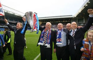 Soccer - Dundee United v Rangers - Clydesdale Bank Premier League - Rangers Champions