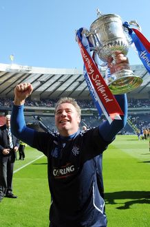 Soccer - The Homecoming Scottish Cup - Final - Rangers v Falkirk - Hampden Park