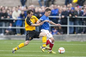 Soccer - Irn Bru Scottish Third Division - Annan Athletic v Rangers - Galabank Stadium