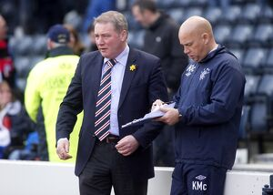 Soccer - Irn Bru Scottish Third Division - Queens Park v Rangers - Hampden Stadium