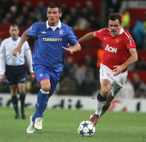 Soccer - Manchester United v Rangers - UEFA Champions League - Group Stage - Group