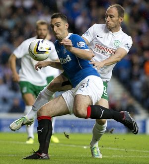 Soccer - Petrofac Training Cup - First Round South-West - Rangers v Hibernian - Ibrox