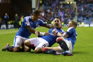 <b>Rangers 1-0 Livingston</b><br>Selection of 37 items