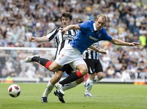 <b>Rangers 2-1 Newcastle United</b><br>Selection of 121 items