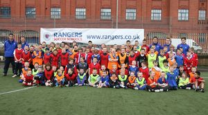 <b>Rangers Easter Soccer School Ibrox 2009</b><br>Selection of 39 items