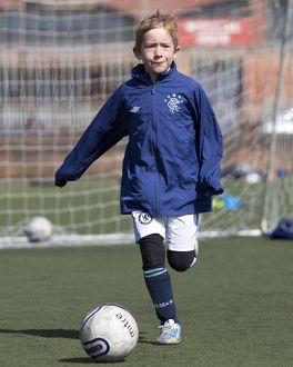 Soccer - Rangers Easter Soccer School - Ibrox Complex