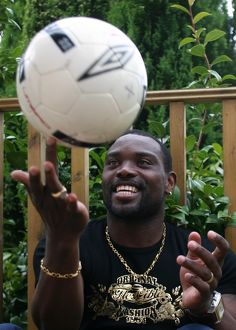 Soccer -Rangers Jean-Claude Darcheville at Home Feature-