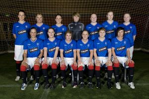 Soccer - Rangers Ladies Team - Murray park