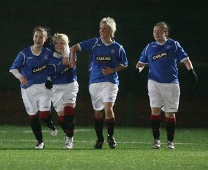 <b>Rangers Ladies 2 Celtic Ladies 1</b><br>Selection of 16 items