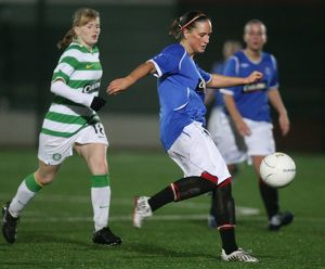 Soccer - Rangers Ladies v Celtic Ladies - Petershill Park