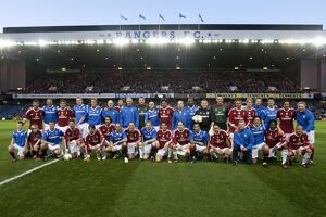 Soccer - Rangers Legends v AC Milan Gloire Legends - Ibrox Stadium