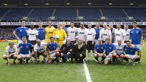 Rangers Legends v Manchester United Legends (Selection of 71 Items)
