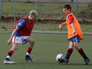 Soccer - Rangers - October Holiday Soccer School - Ibrox Complex