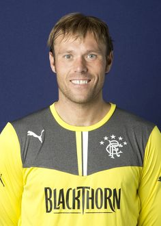 Soccer - Rangers Player Head Shot - Murray Park