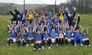 Soccer - Rangers Residential Camp - Inverclyde Sports Centre - Largs