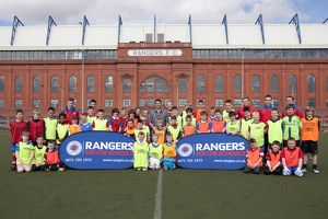 <b>Ibrox Complex Soccer School Easter 2012</b><br>Selection of 163 items