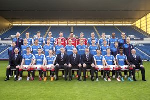 <b>Rangers Team 2015-16</b><br>Selection of 27 items
