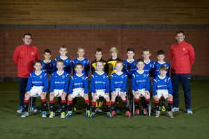 Soccer - Rangers U10's Team Picture - Murray Park