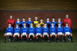 Soccer - Rangers U11's Team Picture - Murray Park