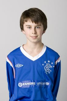 Soccer - Rangers U12's Head Shots - Murray Park