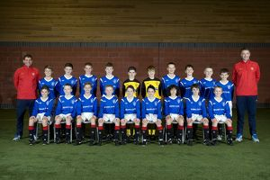 Soccer - Rangers U12's Team Picture - Murray Park