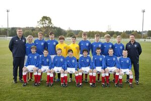Soccer - Rangers U13 's Team Picture - Murray Park