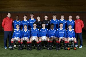 Soccer - Rangers U15's Team Shot - Murray Park