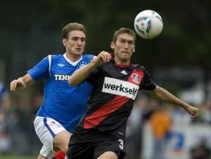 Soccer - Rangers v Bayer 04 Leverkusen - Pre Season Friendly - Takko Stadium