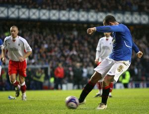 Soccer - Rangers v Falkirk - Clydesdale Bank Premier League - Ibrox