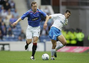 Soccer - Rangers v FK Zeta - Champions League Qualifier 2nd Round - Ibrox