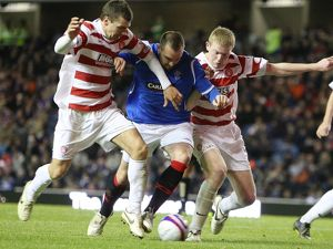 Soccer - Rangers v Hamilton Academical - Co-operative Insurance Cup - Fourth Round - Ibrox