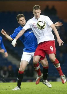 Soccer - Rangers v Linfield Friendly - Ibrox Stadium