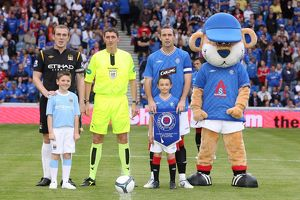 Soccer - Rangers v Manchester City - Pre-Season Friendly - Ibrox