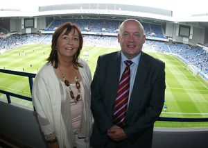 Soccer - Rangers v Newcastle - Pre-Season Friendly - Ibrox