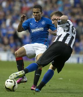 Soccer - Rangers v Newcastle United Friendly - Ibrox Stadium