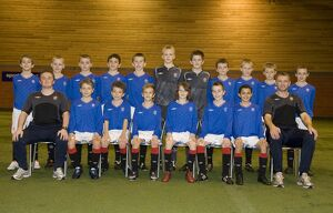 Soccer - Rangers - Youth Player Under 12 Team Group - Murray Park