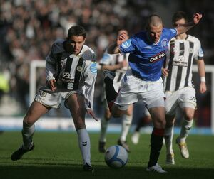 Soccer - Saint Mirren v Rangers - the Co-operative Insurance Cup Final - Hampden