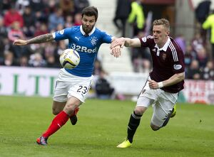 <b>Hearts 2-2 Rangers</b><br>Selection of 62 items