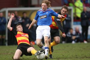 Soccer -Scottish Cup Quarter-Final - Partick Thistle v Rangers- Firhill