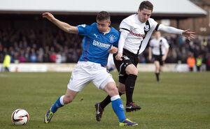 <b>Ayr United 0-2 Rangers</b><br>Selection of 33 items