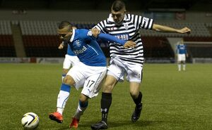 Soccer - Scottish League Cup - Round One - Queens Park v Rangers - Excelsior Stadium
