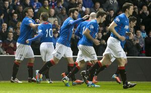 Soccer - Scottish League One - Rangers v Airdrieonians - Ibrox Stadium
