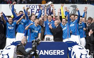 Soccer - Scottish League One - Rangers v Stranraer - Ibrox Stadium