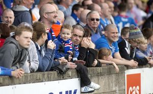 Soccer - Scottish League One - Stenhousemuir v Rangers - Ochilview Park