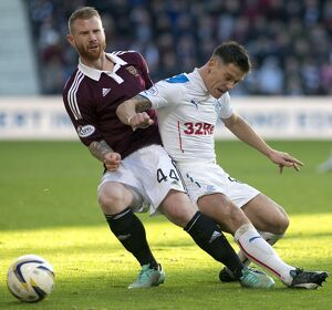 <b>Hearts 2-0 Rangers</b><br>Selection of 36 items