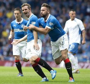 <b>Rangers 4-2 Queen of the South</b><br>Selection of 46 items