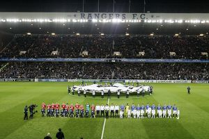 european nights/rangers 0 1 manchester united/soccer uefa champions league group c rangers