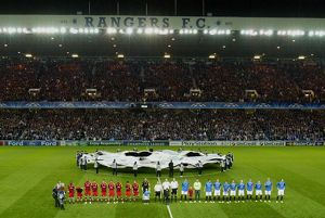 european nights/rangers 1 4 sevilla/soccer uefa champions league group g rangers