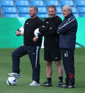 Soccer - UEFA Cup Final - Rangers Training - Manchester City Stadium