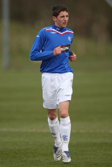 Soccer -Under 19 Youth League - Rangers v Motherwell - Murray Park